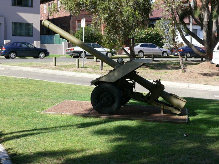 raahc artillery register maroubra nsw 120mm. Black Bedroom Furniture Sets. Home Design Ideas