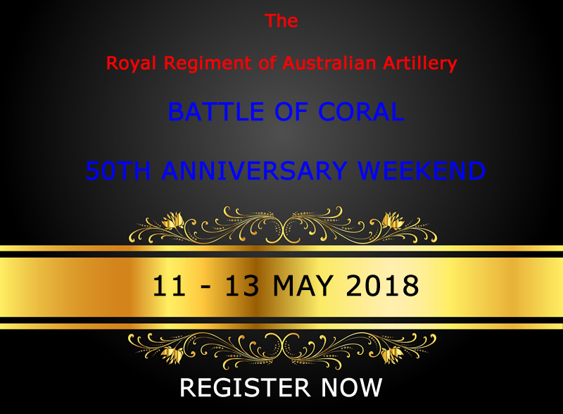 Battle of Coral Online Registration Form