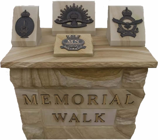 Memorial Walk Entry Image
